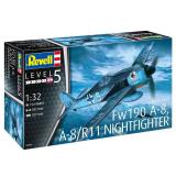 Focke Wulf Fw190A-8, A-8/R11 Nightfighter (1:32)